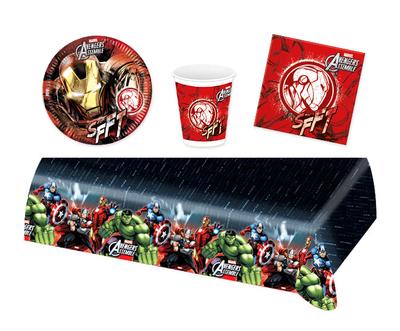 Iron Man feestpakket - voordeelpakket 8 personen