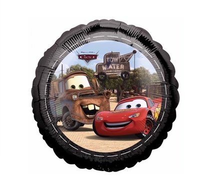 Disney Cars folie ballon met Takel en McQueen
