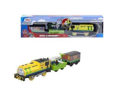 Thomas de Trein TrackMaster gemotoriseerde trein Raul en Emerson trein