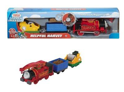 Thomas de Trein TrackMaster gemotoriseerde trein Helpful Harvey