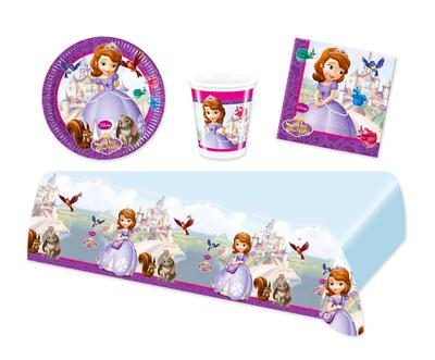 Sofia het Prinsesje feestpakket - voordeelpakket 8 personen