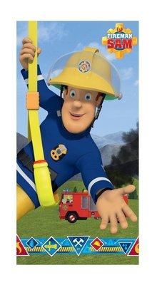Brandweerman Sam badlaken - strandlaken