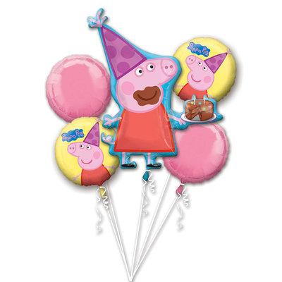 Peppa Pig folie ballonnen set