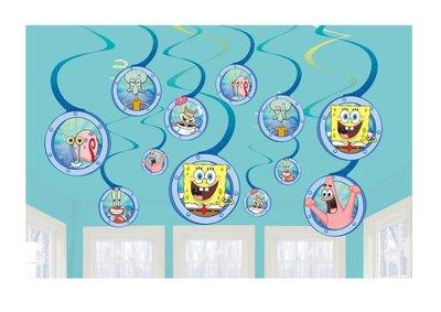 Spongebob plafond decoratie set