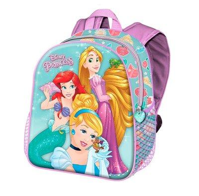 Disney Princess rugzak 3D met Rapunzel en Ariël