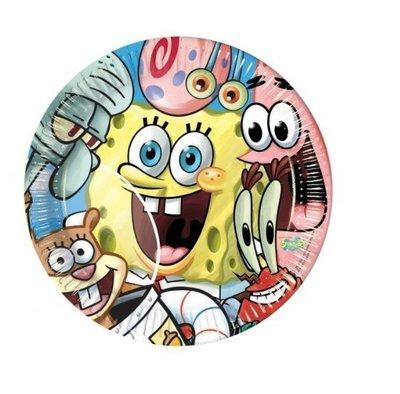 Spongebob party bordjes