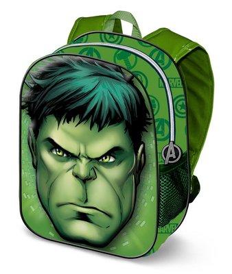 The Avengers De Hulk rugzak met 3D voorkant