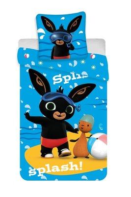 Bing het konijn peuter dekbedovertrek 100x135cm Splash