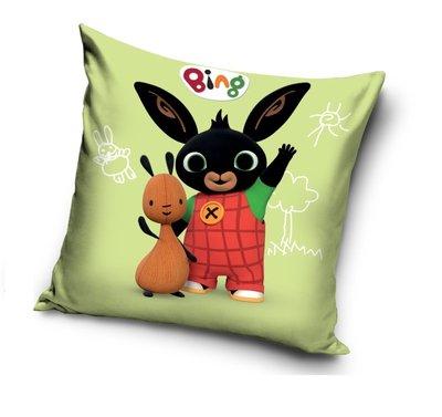 Bing het konijn kussen met Flop Say Hello
