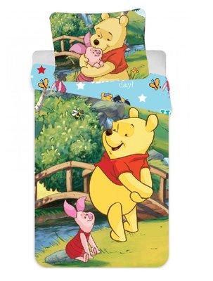 Disney Winnie de Pooh peuter dekbedovertrek 90x140cm
