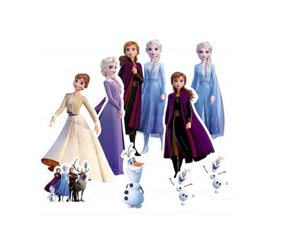 Disney Frozen 2 tafel decoratie set