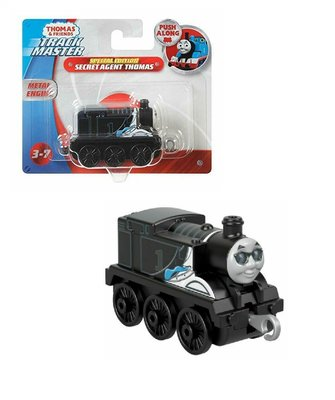 Thomas de Trein TrackMaster Push Along trein Thomas secret agent