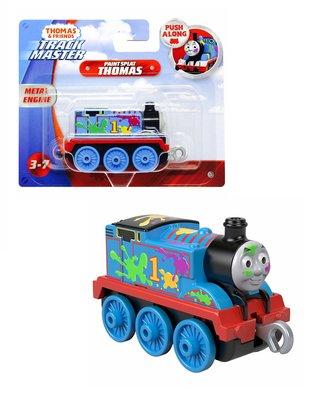 Thomas de Trein TrackMaster Push Along trein Thomas paint splat
