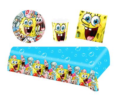 Spongebob feestpakket - voordeelpakket 10 personen