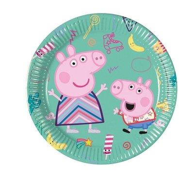 Peppa Pig gebaksbordjes
