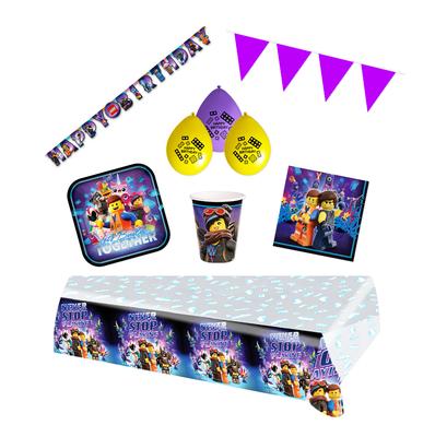 Lego Movie feestpakket Deluxe - Pakket voor 8 personen