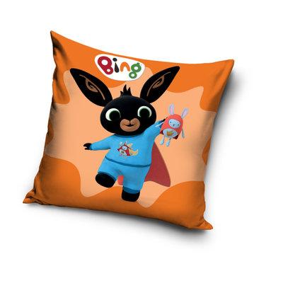 Bing het konijn sierkussen Superheld