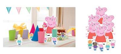 Peppa Pig tafel decoratie set