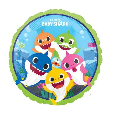 Baby Shark folie ballon