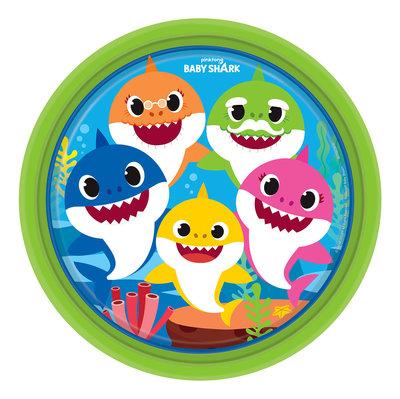 Baby Shark party bordjes