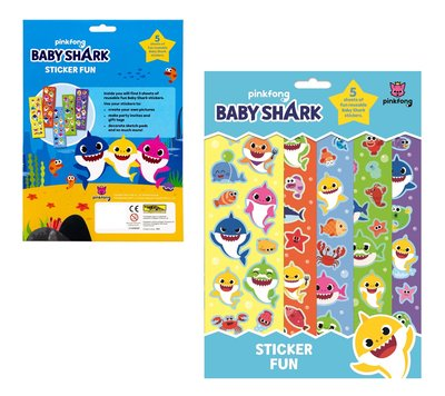 Baby Shark stickerfun - stickers