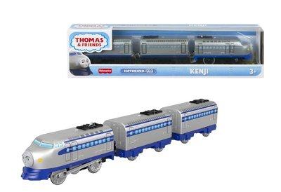 Thomas de Trein TrackMaster gemotoriseerde trein Kenji met 2 wagons