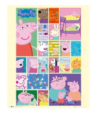 Peppa Pig poster 40x50cm