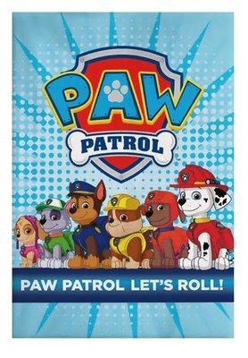 Paw Patrol fleece deken Let's Roll!