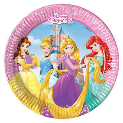 Disney Princess gebaks bordjes