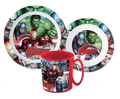 The Avengers kinderservies