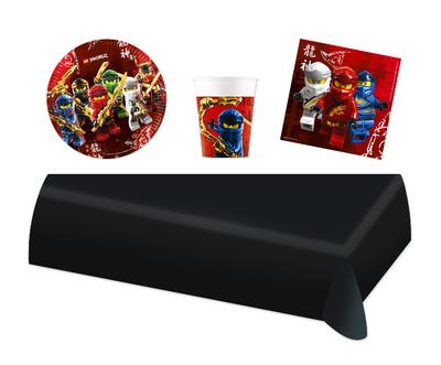 Ninjago feestpakket - voordeelpakket 8 personen