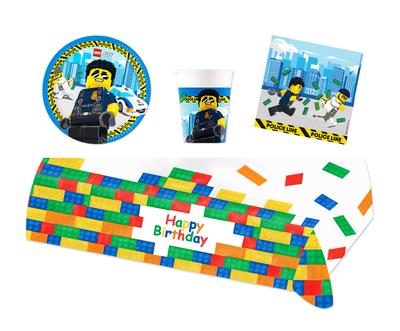 Lego City feestpakket - voordeelpakket 8 personen
