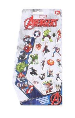 The Avengers foam stickers