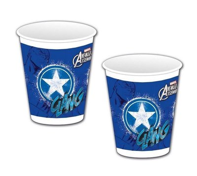 The Avengers Captain America party bekers