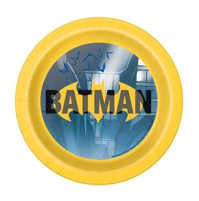 Batman gebak bordjes