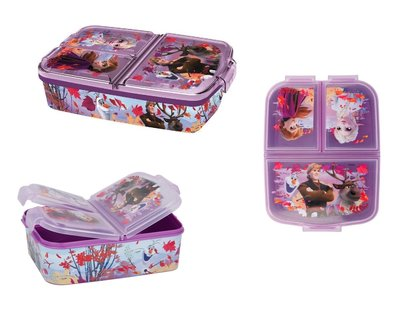 Disney Frozen broodtrommel - lunchbox 3 vaks