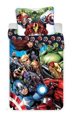 The Avengers dekbedovertrek 140x200cm katoen