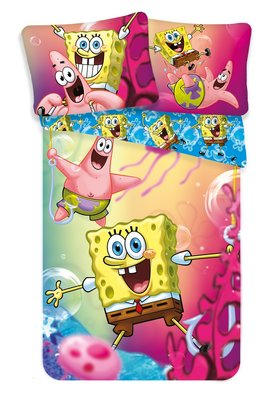 Spongebob dekbedovertrek 140x200cm