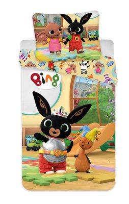 Bing het konijn peuter dekbedovertrek 100x135cm