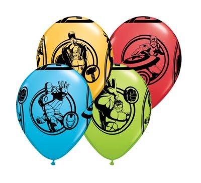 The Avengers feest ballonnen zak van 25 stuks