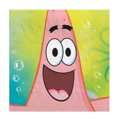 Spongebob servetten met Patrick