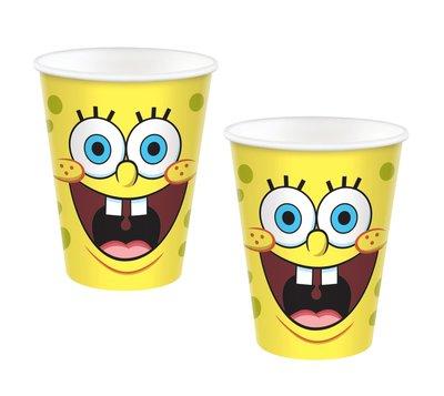 Spongebob party bekers karton