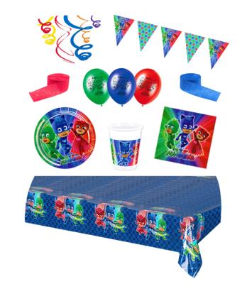 PJ Masks feestpakket Deluxe - pakket voor 8 personen