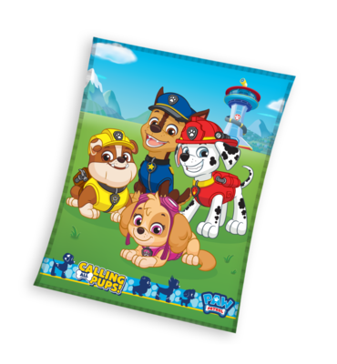 Paw Patrol fleece deken