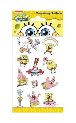 Spongebob tattoo set
