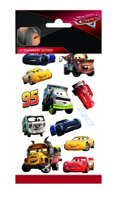 Disney Cars tattoo set