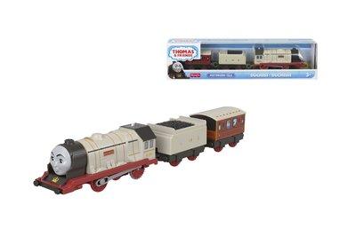 Thomas de Trein TrackMaster gemotoriseerde trein Duchess met 2 wagons
