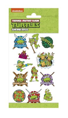 Ninja Turtles tattoo set