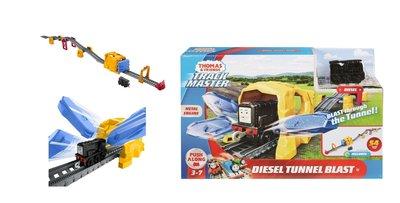 Thomas de Trein TrackMaster Push Along speelset Diesel tunnel blast