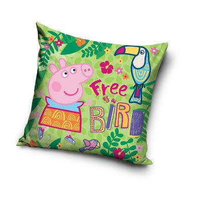 Peppa Pig kussen - sierkussen Jungle